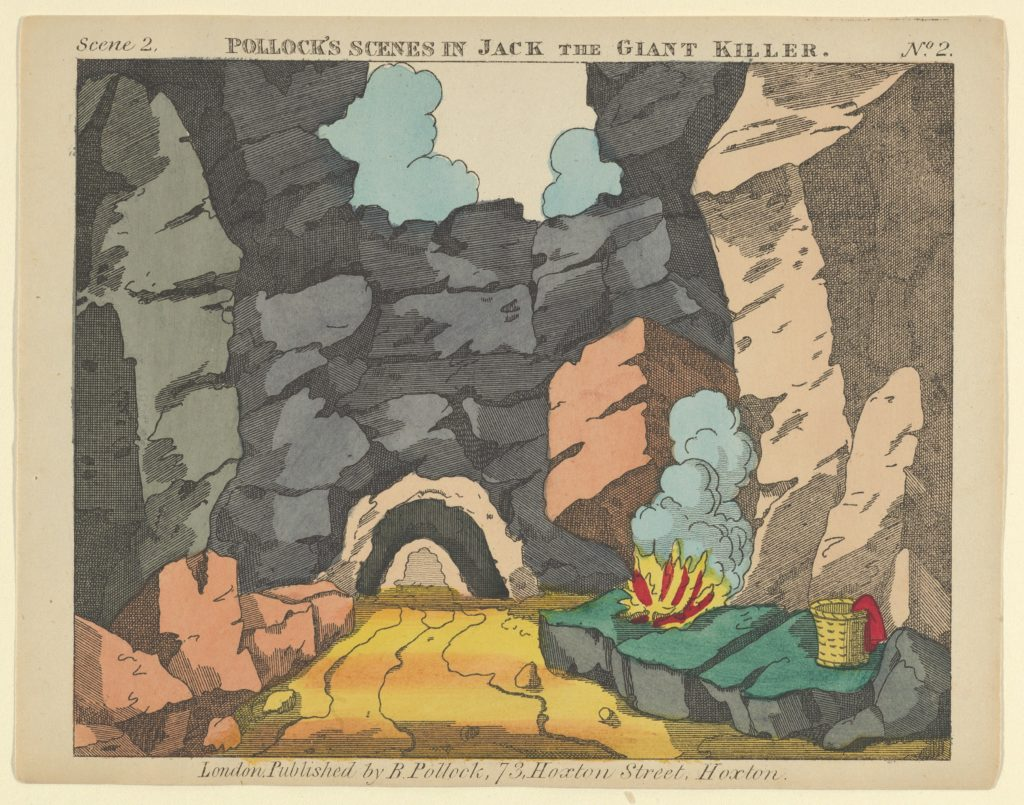 Scene 2, from Jack and the Giant Killer, Scenes for a Toy Theater