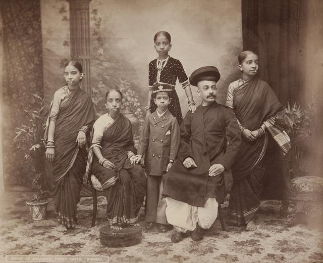 Bombay, Group of Brahmins, Parbu Caste
