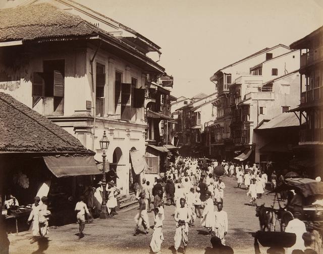Bombay Street Scene