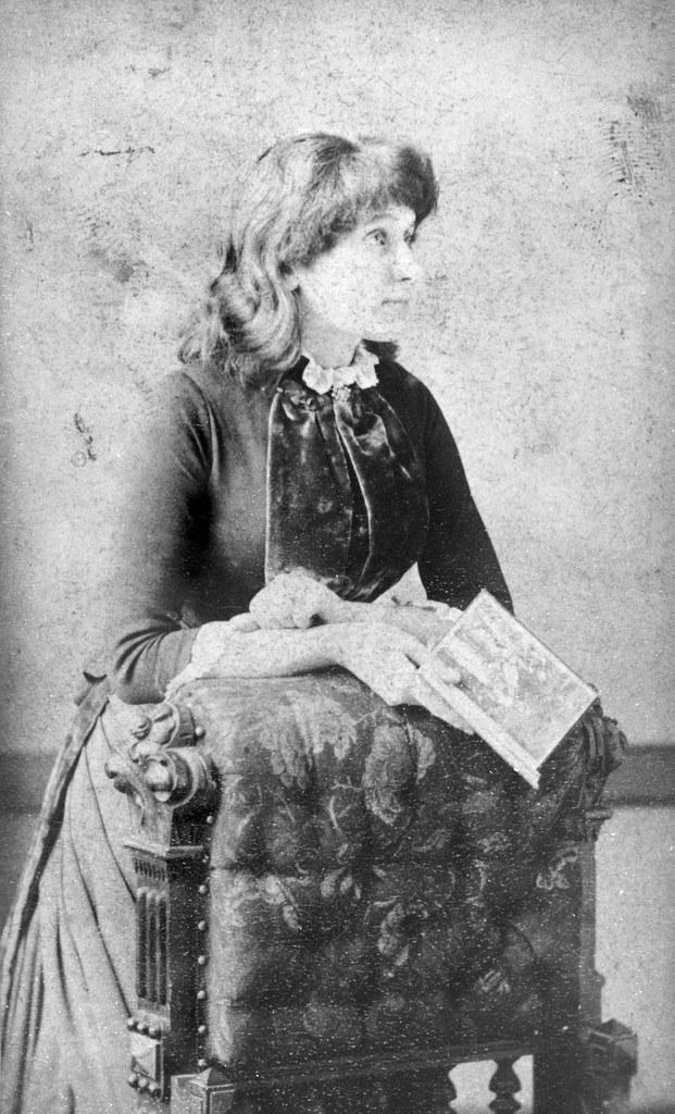 Emmeline Pankhurst as a young girl, 1870s.