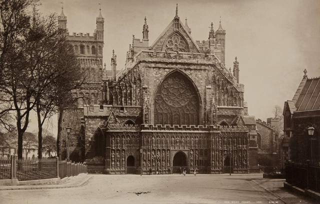 Exeter Cathedral, The West Front