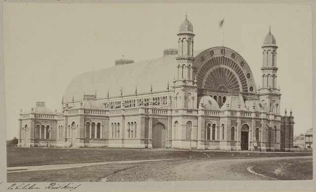 Exhibition building, Prince Alfred Park, c. 1870s