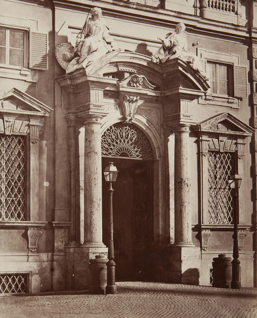 Grand Building Entrance