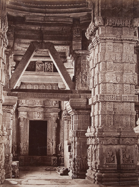Interior of Temple at Gwalior Fort