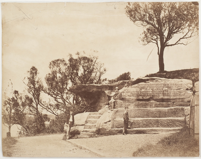 Mrs Macquarie's Chair, Sydney, ca. 1870-1875 / photographer American & Australasian Photographic Company