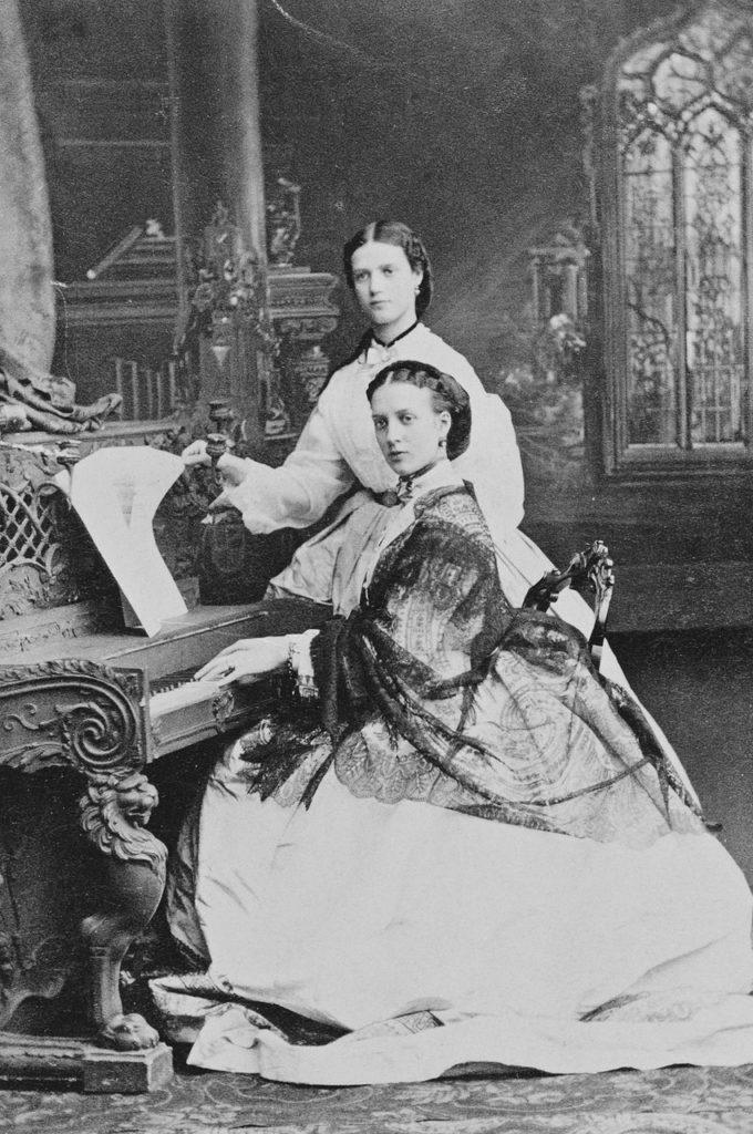 Princess Alexandra and Princess Dagmar of Denmark.