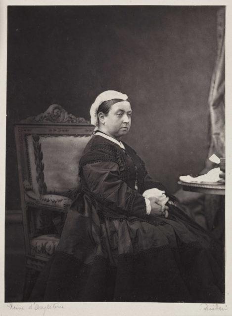 Queen Victoria, c.1870.