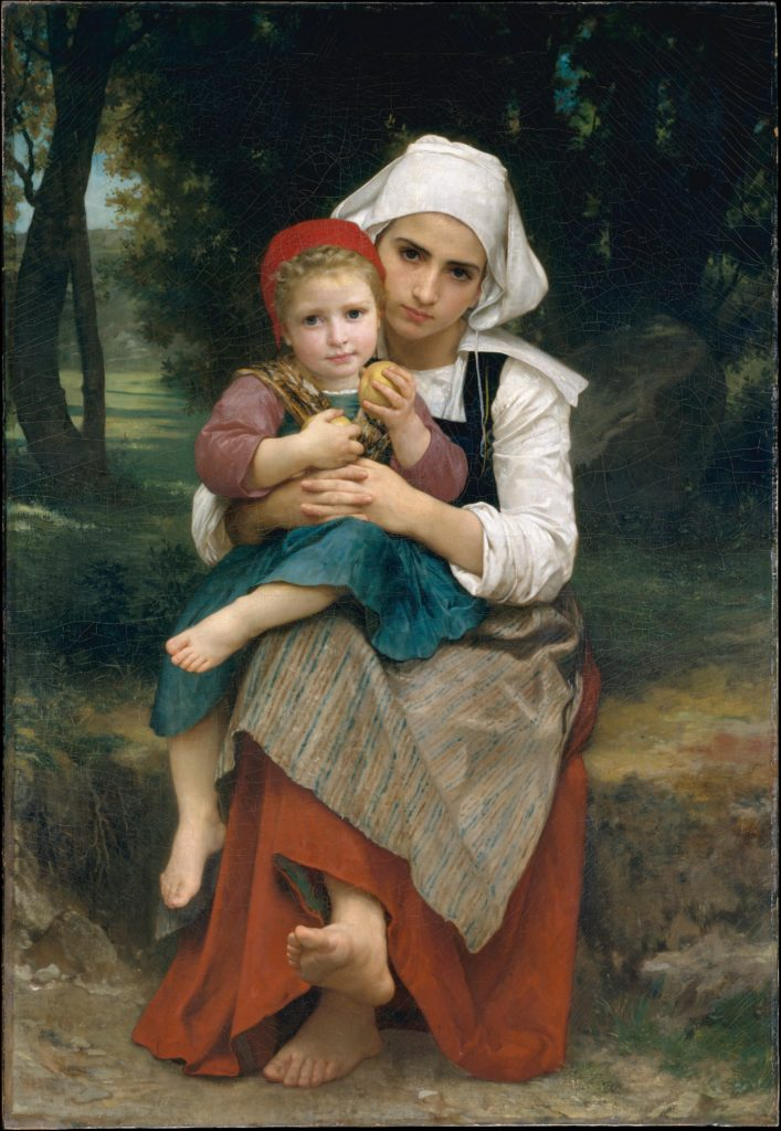 Breton Brother and Sister
