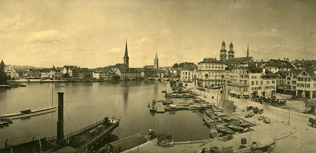 BAZ - Blick auf die alte Schifflände