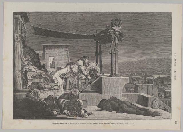 Les porteurs de mauvaises nouvelles (The Bearer of Bad Tidings) from Le Monde Illustré