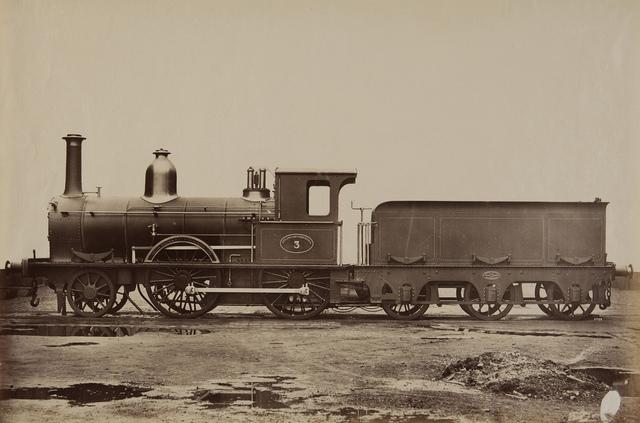 Dutch States Railway, Beyer Peacock Manufacturing, Manchester
