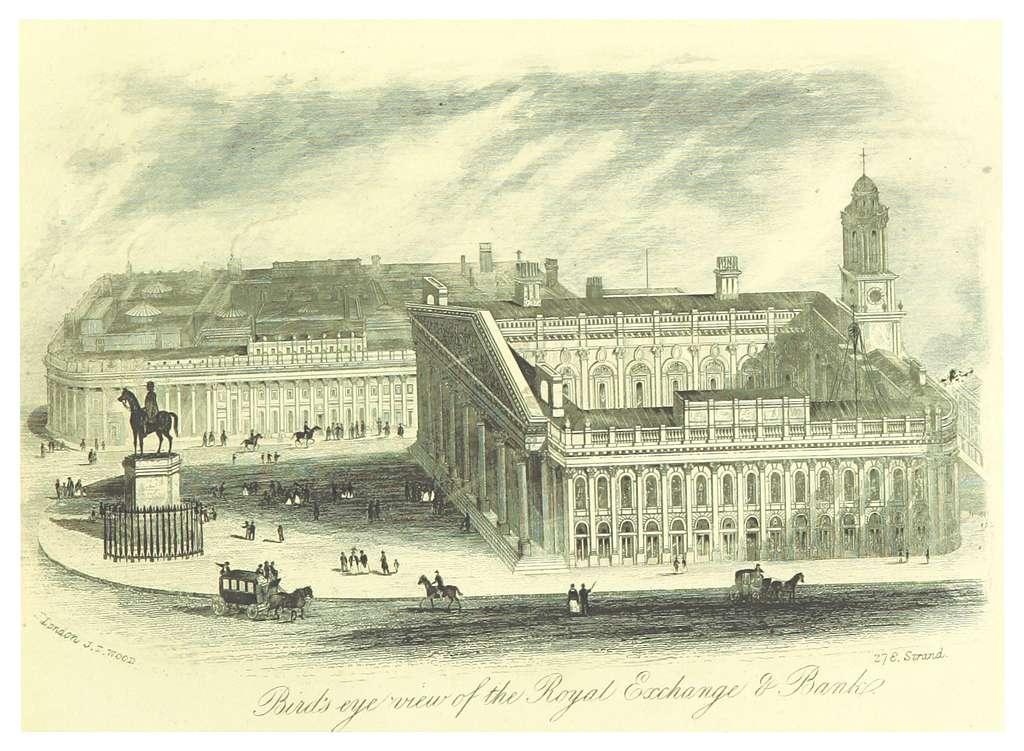 LONDON ILLUSTR(1872) p1.071 THE ROYAL EXCHANGE & BANK