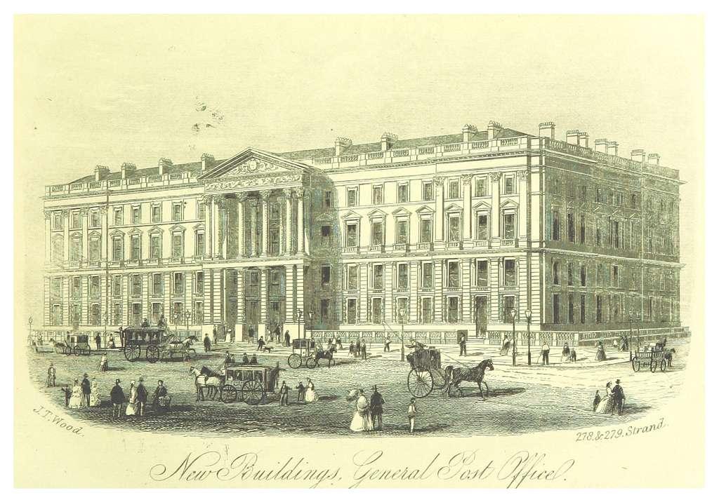 LONDON ILLUSTR(1872) p1.101 GENERAL POST OFFICE