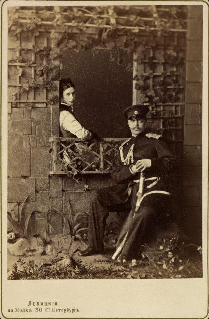 Tsarevich Alexander and Tsarevna Maria Feodorovna