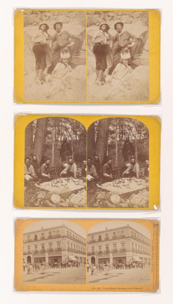 Three Stereographs