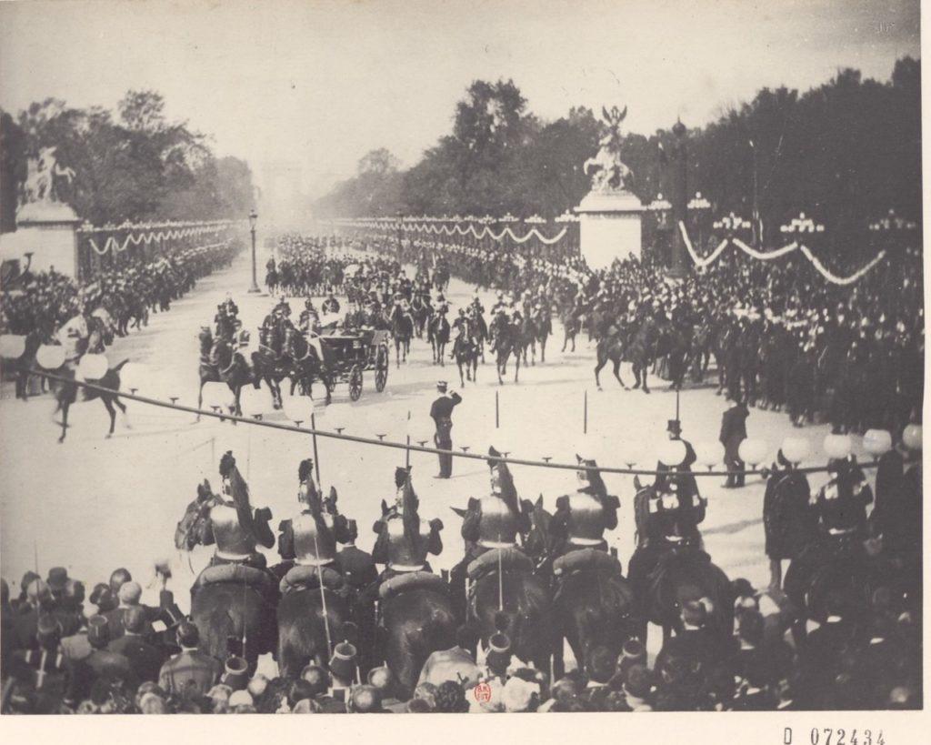 Alexander III, the Emperor of Russia In Paris