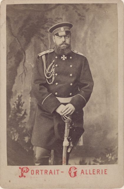 Emperor of Russia - Alexander III, (1845-1894).