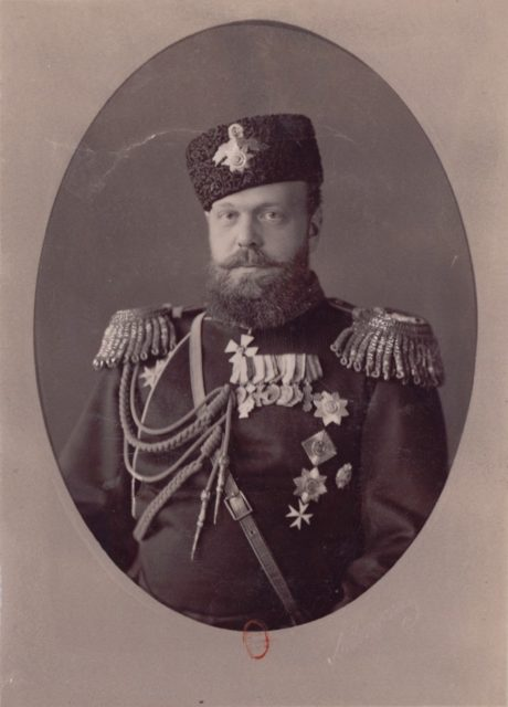 Alexander III, the Emperor of Russia (1845-1894). 1873
