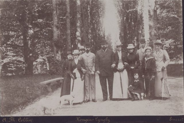 Family of Alexander III, the Emperor of Russia (1845-1894). 1873