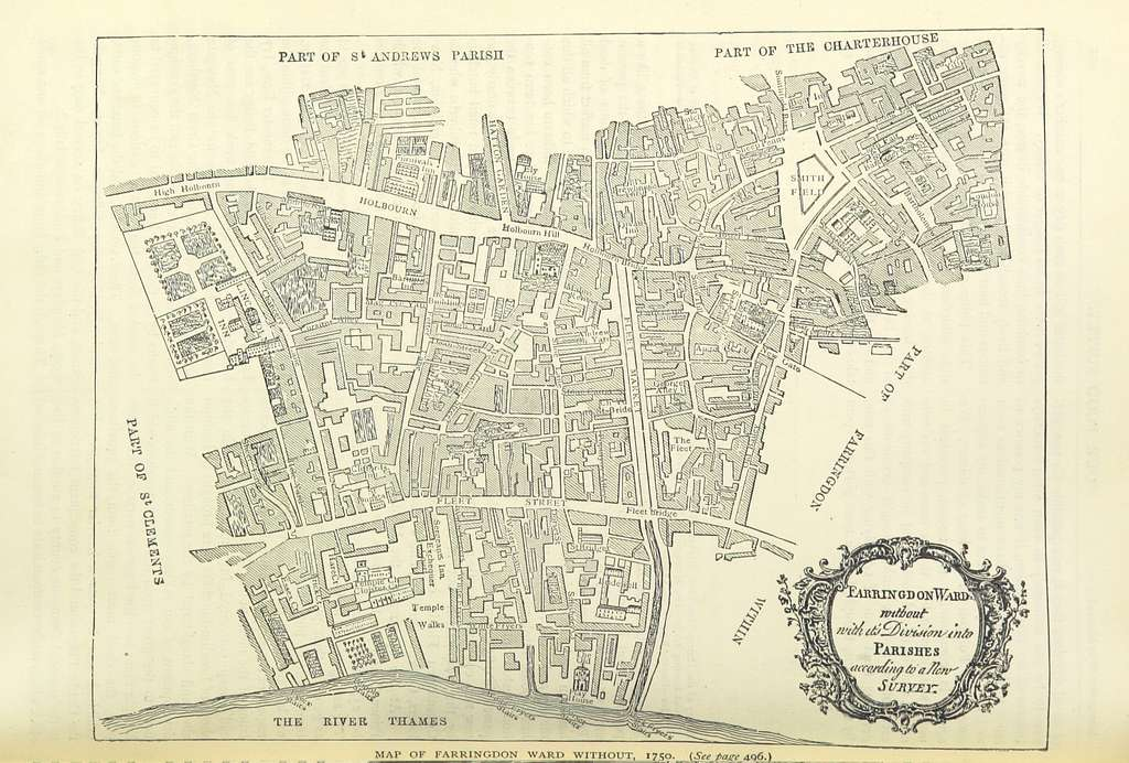 Image taken from page 1098 of 'Old and New London, etc' (11188083074)