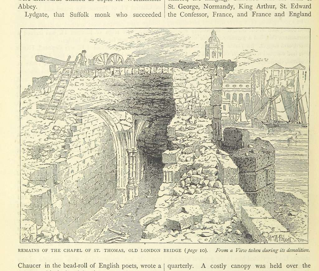 Image taken from page 618 of 'Old and New London, etc' (11186350444)