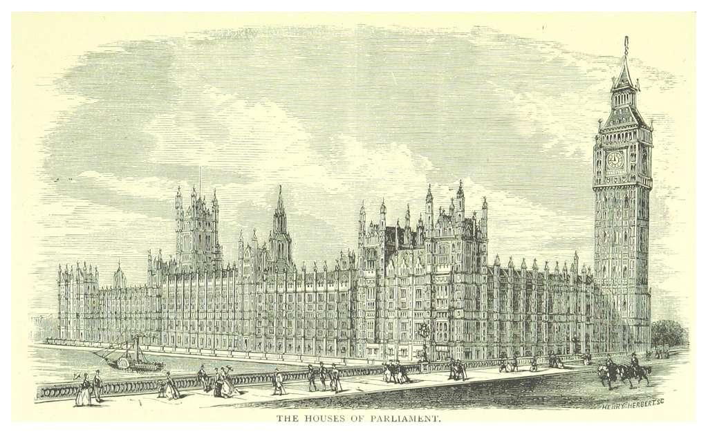 LONDON ILLUSTR(1873) p2.077 THE HOUSES OF PARLIAMENT