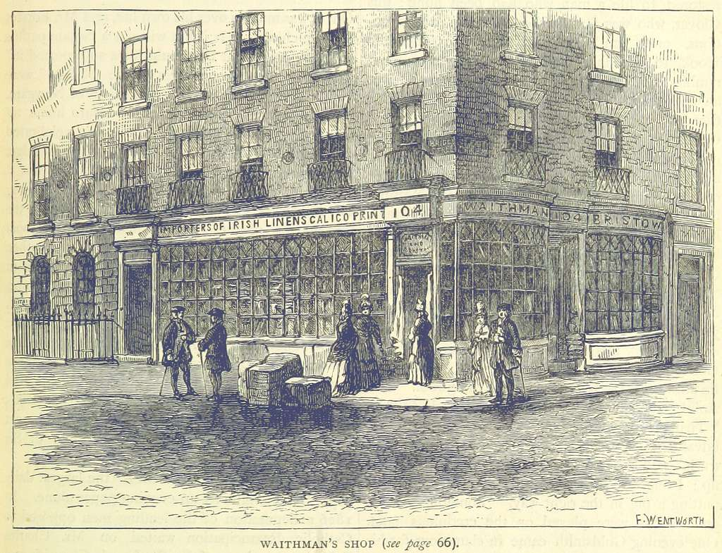 ONL (1887) 1.061 - Waithman's Shop