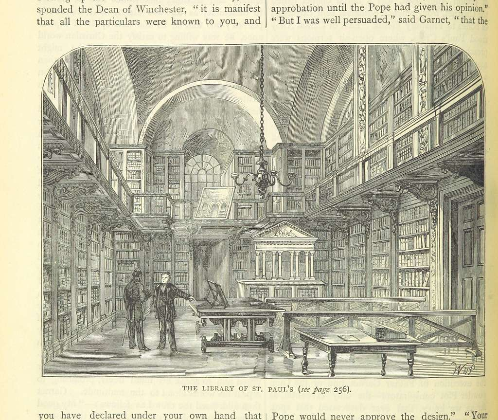 ONL (1887) 1.264 - The Library of St Paul's