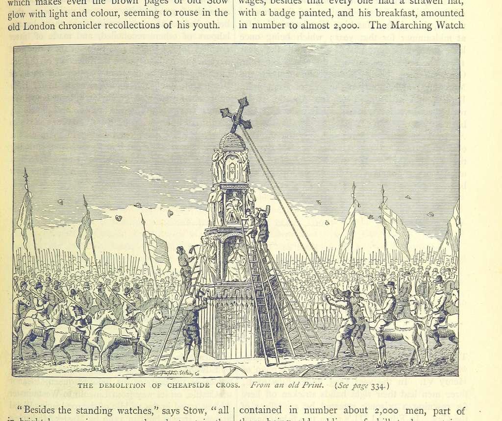 ONL (1887) 1.331 - Demolition of Cheapside Cross