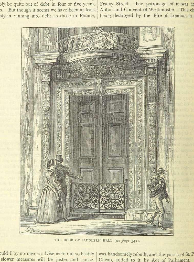 ONL (1887) 1.348 - The Door of Saddlers' Hall