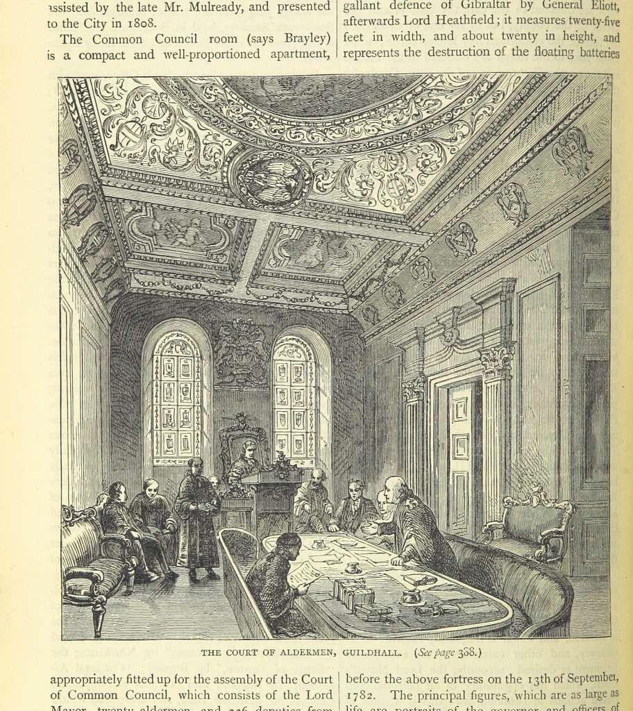 ONL (1887) 1.390 - The Court of Aldermen, Guildhall