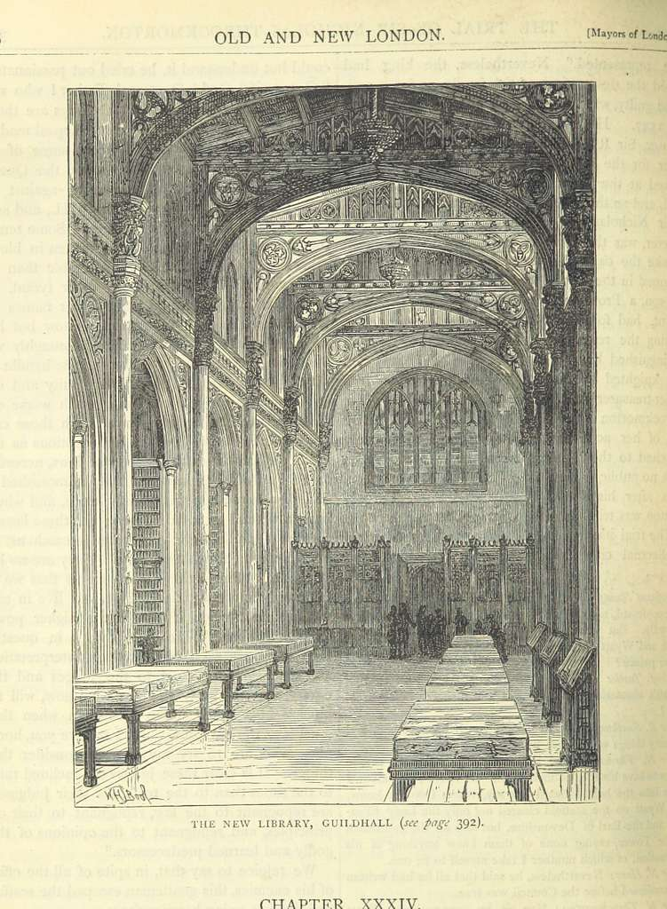 ONL (1887) 1.396 - The New Library, Guildhall