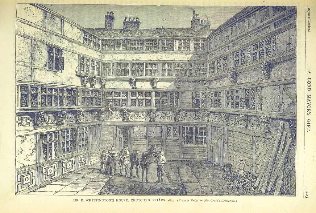 ONL (1887) 1.403 - Sir Richard Whittington's House, Crutched Friars, 1803