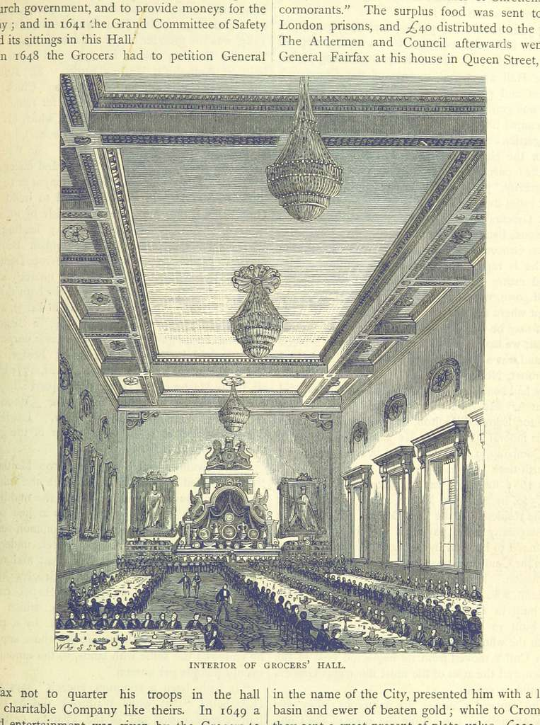 ONL (1887) 1.433 - Interior of Grocers' Hall