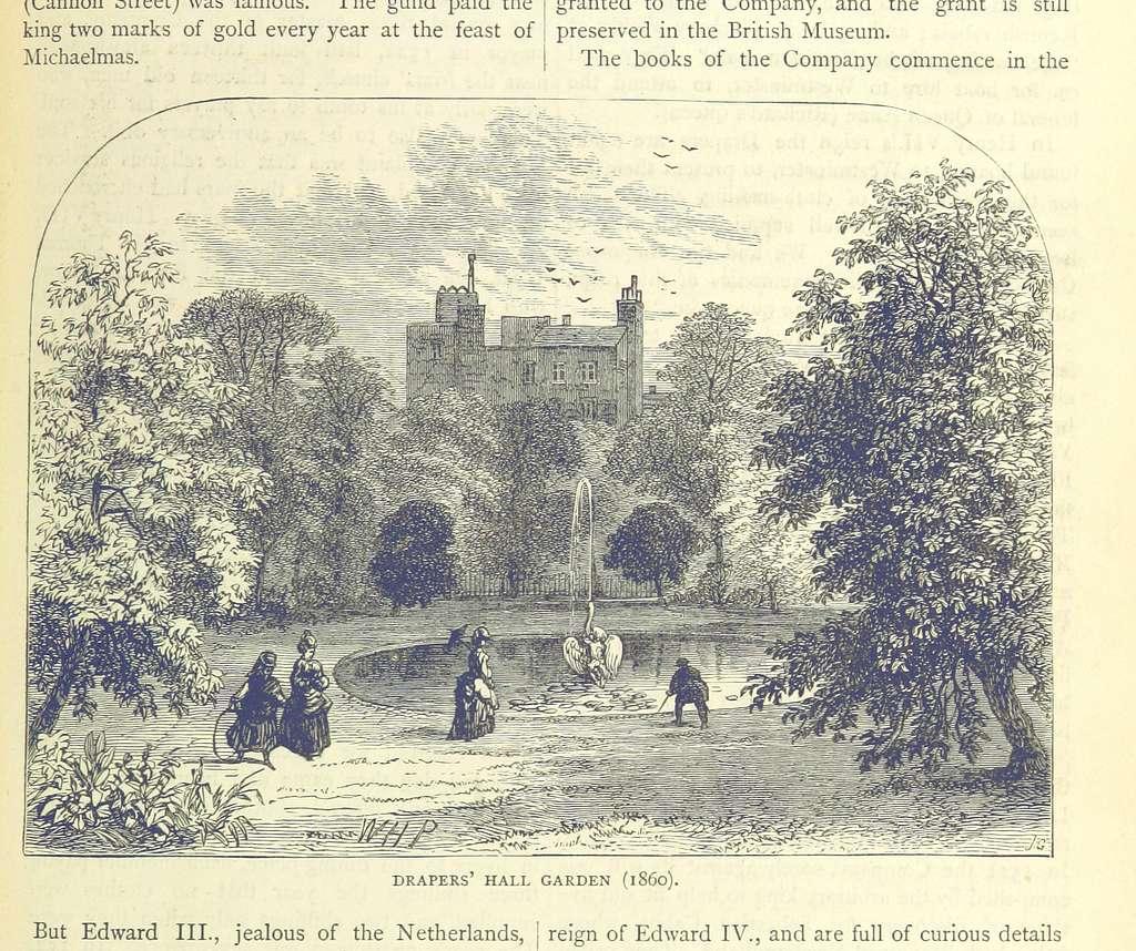 ONL (1887) 1.517 - Drapers' Hall Garden, 1860