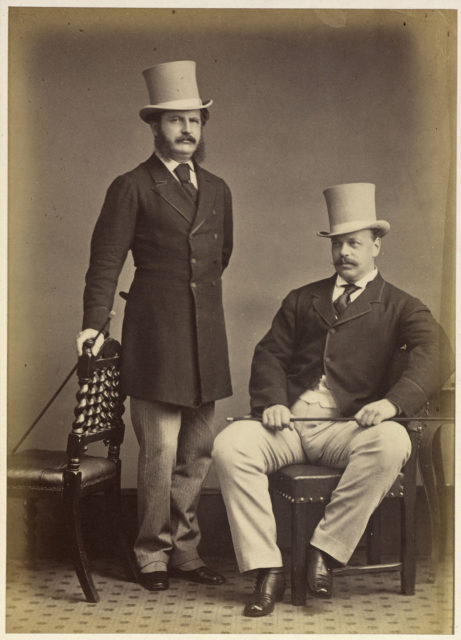 Tsarevich Alexander and Major Christopher Charles Tisdale