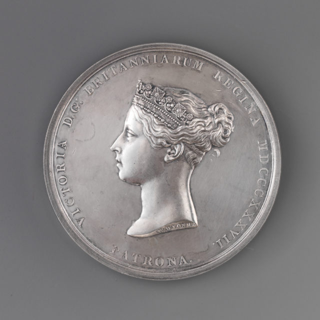 Awarded by the Royal Academy of G.F. Munn for Studies from Life, 1874