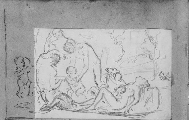 The Nurture of Bacchus (from Scrapbook)