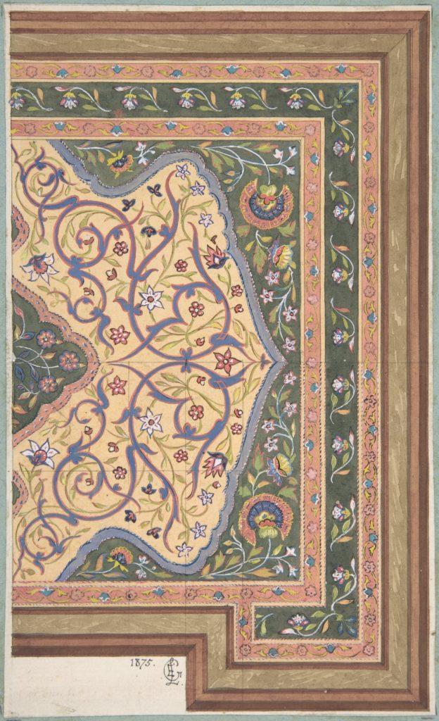 Islamic Ceiling Design for Deepdene House, Surrey