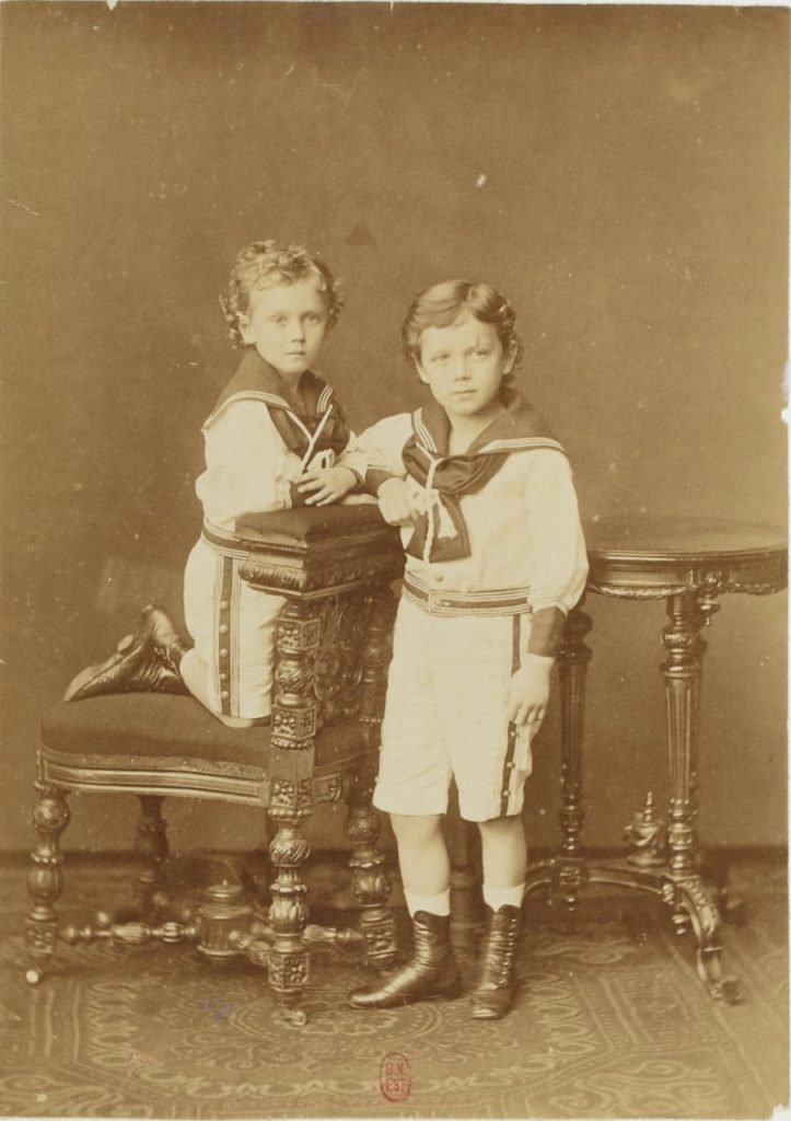 Emperor of Russia Nikolay II child portrait