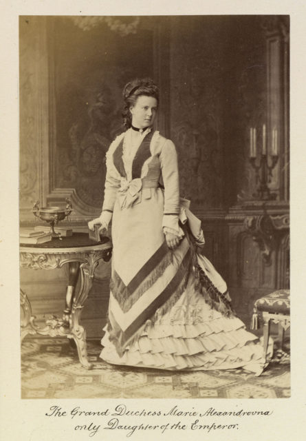 Grand Duchess Maria Alexandrovna. Album of the Russian Imperial Family, the Imperial Court and statesmen, 1865-1875