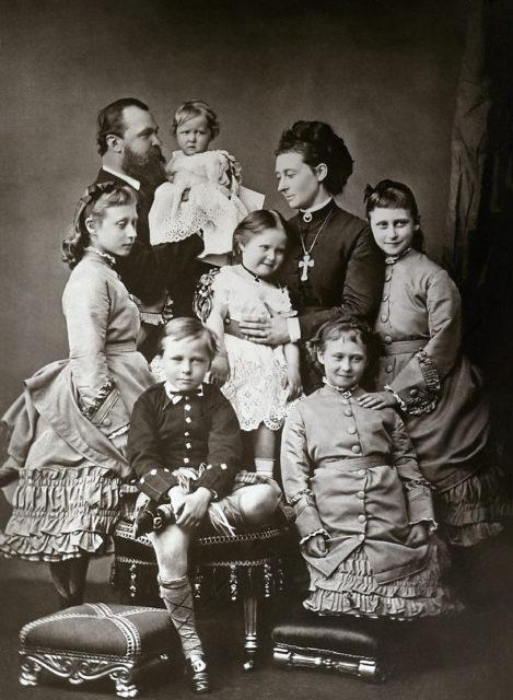 Hessen Family 1875