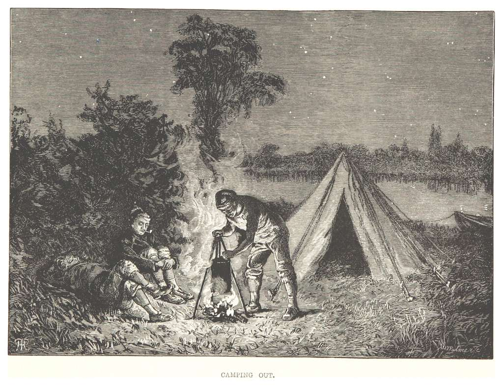 RO(1875) P128 CAMPING OUT