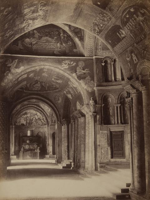 Vestibule of St. Marks's Church, Venice