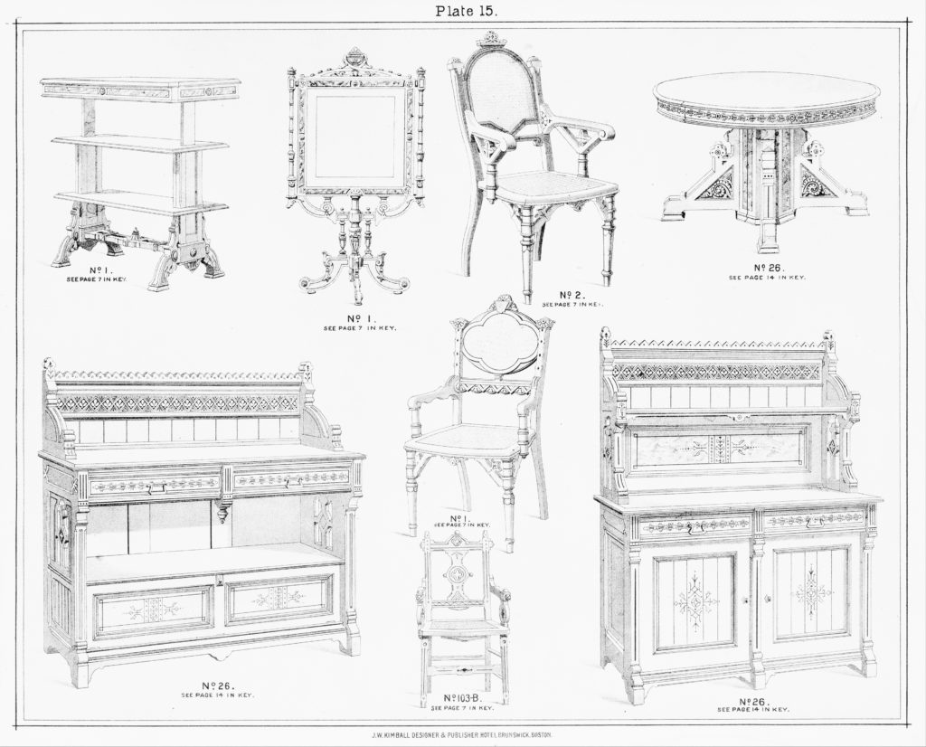 Kimball's Book of Designs: Furniture and Drapery.