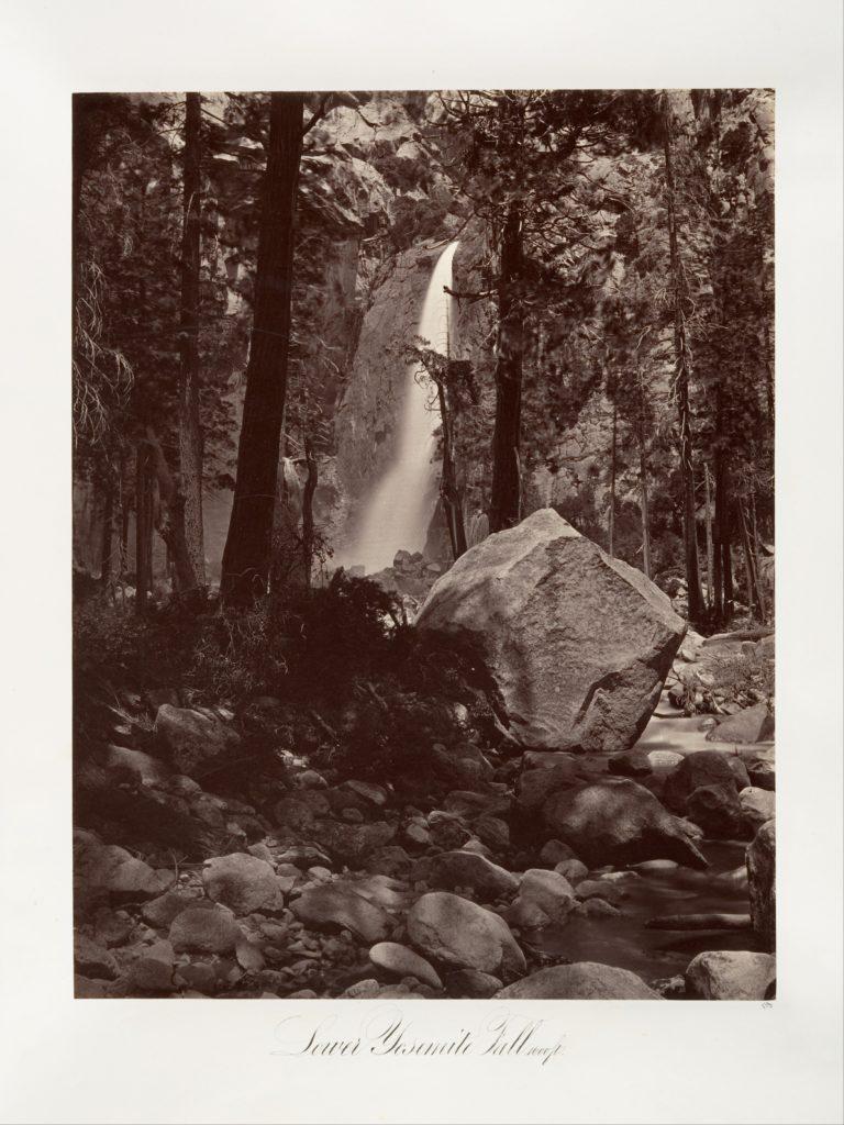 Lower Yosemite Fall, 1,600 feet
