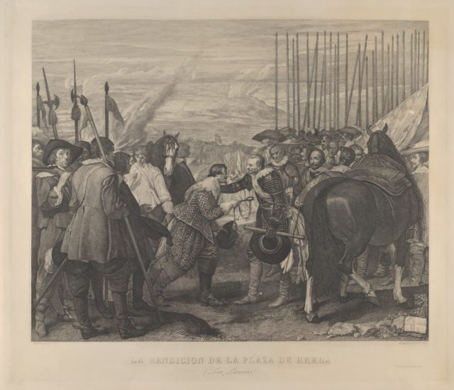 The Surrender at Breda or 'Las Lanzas' (The Lances), after Velázquez