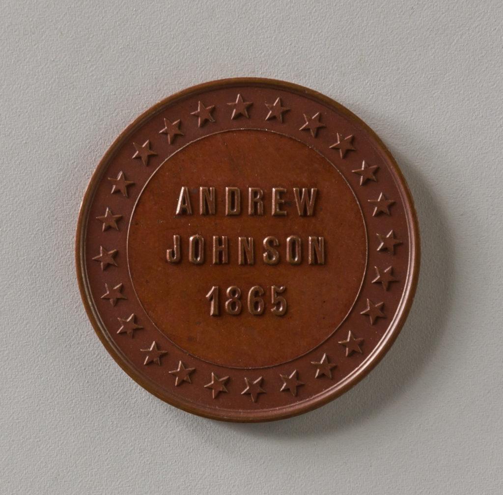 Token of Andrew Johnson