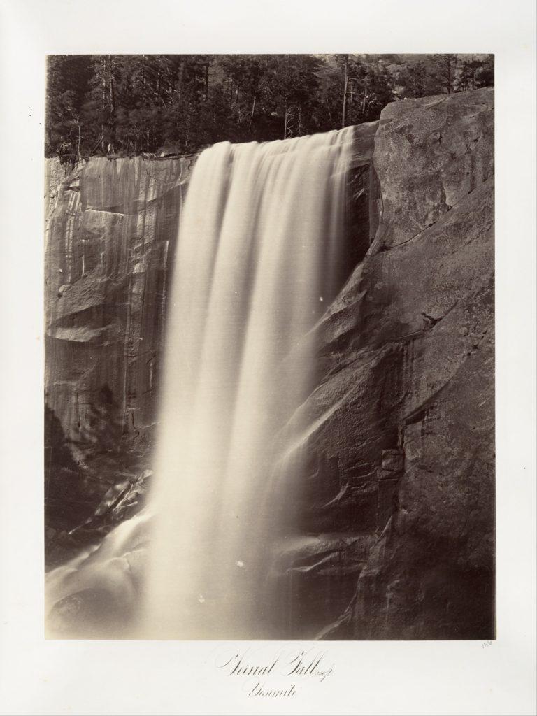 Vernal Falls, 350 feet, Yosemite
