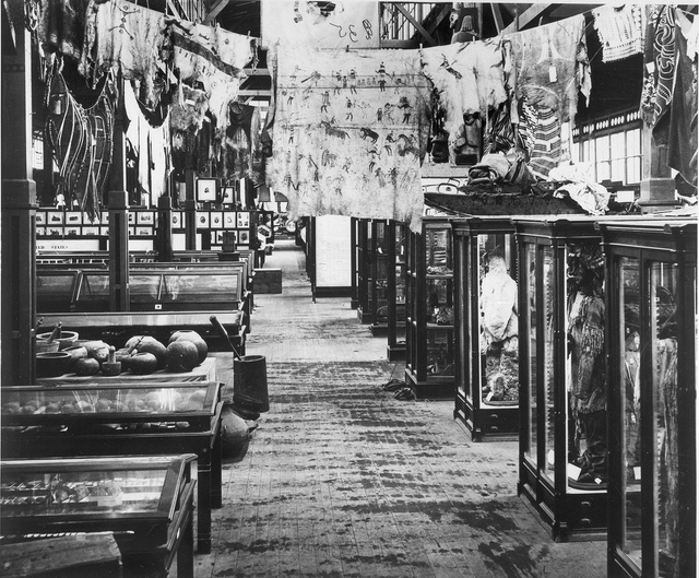 Centennial Exposition, Indian Exhibits